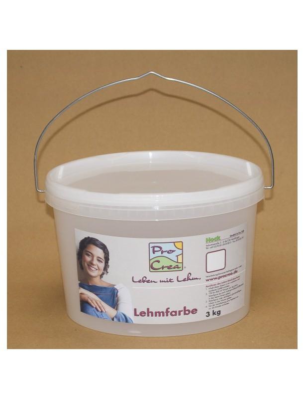 Hliněná barva ProCrea 3 kg