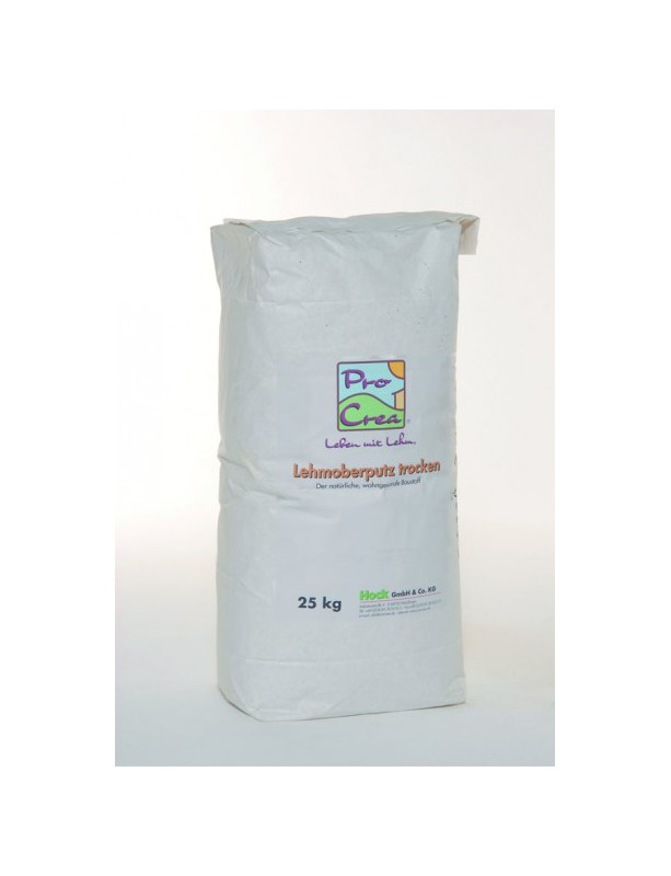 Hliněná lícní omítka 25 kg