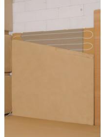 Hliněné panely pro stěnové topení