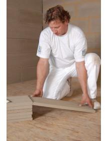 Montáž hliněných panelů ProCrea - řezání