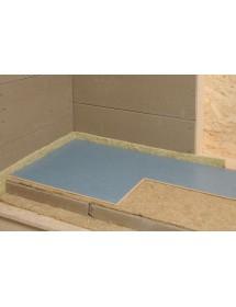 Hliněný panel v podlaze