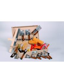 ProCrea set nářadí pro omítání hliněnými omítkami
