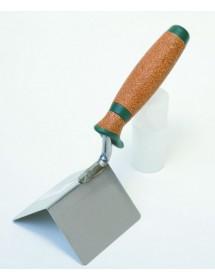 Zednická lžíce na vnější rohy, série Kork 80 x 60 x 60 mm nerez