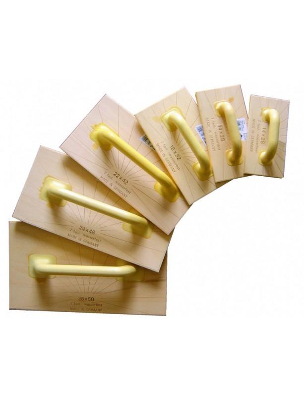 Dřevěné hladítko Abachi 140 x 280 x 14 mm