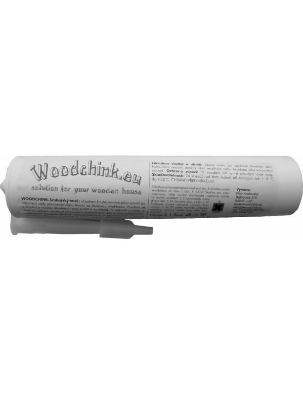 Srubařský tmel Woodchink kartuše 310 ml žlutohnědá 151